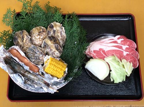 牡蠣 お肉